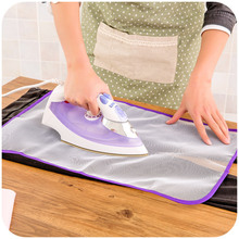 1PC Mesh Fabric Ironing Board Cover Protective Press Iron Folding For Cloth Guard Protect Delicate Garment Clothes HOT