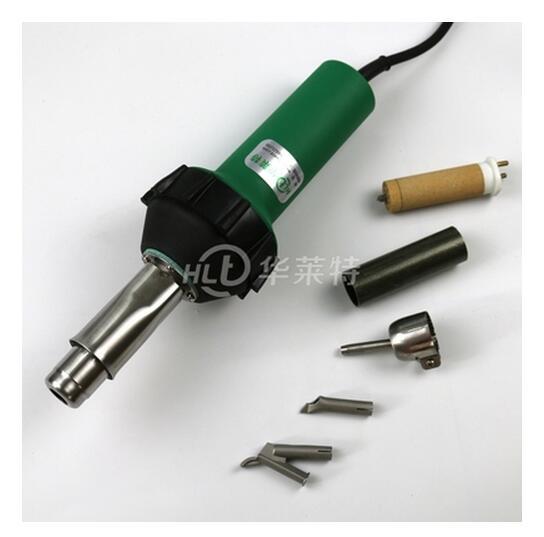 1600 W 110 V/220 V En Plastique Pistolet à Air chaud Air Chaud Soudeur PVC Sol Industriel De Soudage Outil Avec 3 buse + 1 Chaleur Élément + 1 Mica Tube