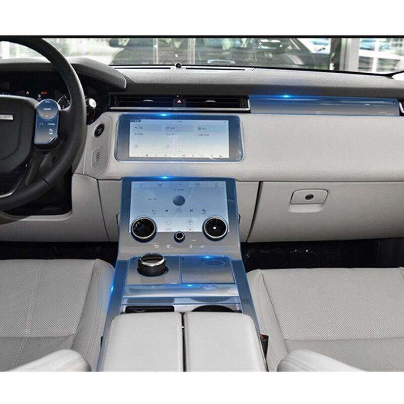 Autocollant Pour Range Rover Velar transparent Promotion TPU Film autocollants pour range rover Center console Car Styling