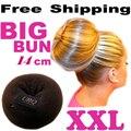 Bollo grande XXL anillo de Bollo para el pelo princesa donuts Meatball Headwear accesorios para el cabello diadema Dropshipping