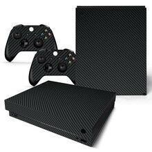 Vinil cilt için Microsoft XBOX ONE X konsolu ve kontrolörleri Sticker kapak derileri için X kutusu One X çıkartması