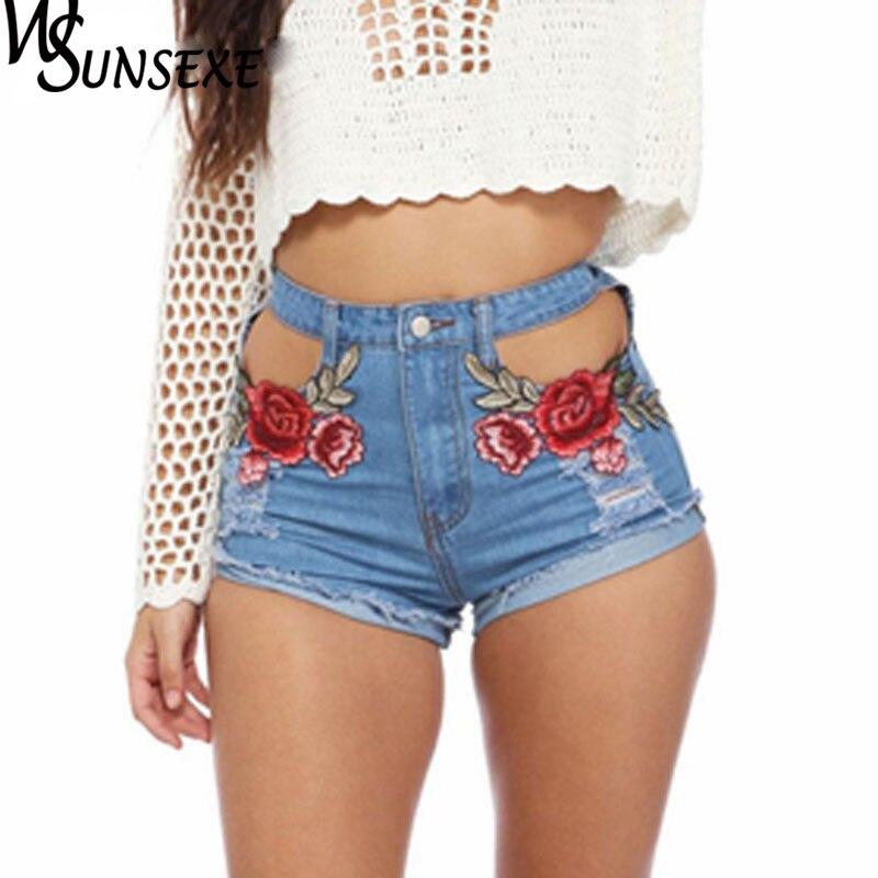 HTB1fz5jRpXXXXX.XXXXq6xXFXXXz - High Waist Shorts Denim Jeans Embroidery PTC 265