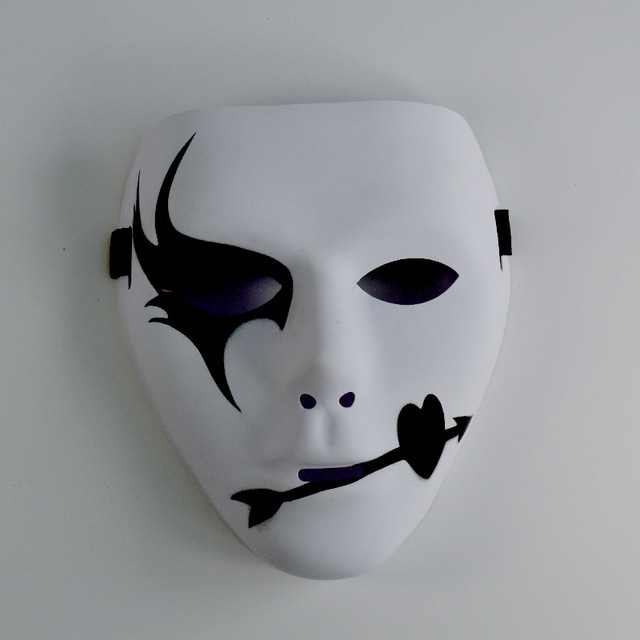 US $1 8  Cheap mask JabbaWockeeZ Face cover Halloween Party Mask Hip Hop  street dance fanny mask cool design -in Party Masks from Home & Garden on