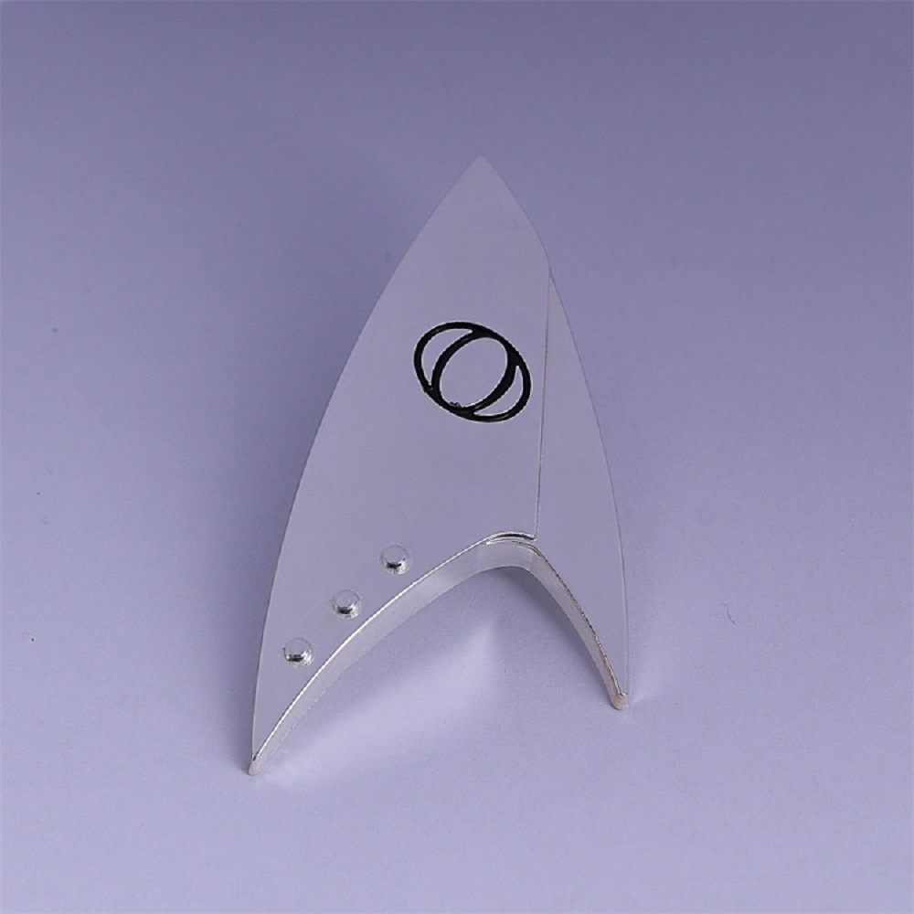 Star Trek Discovery Command Badge Insignia Science Badge Starfleet Brooches Metal Cosplay Prop