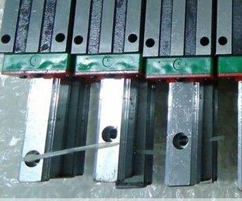 100% genuine HIWIN linear guide HGR45-1200MM block for Taiwan hiwin 100