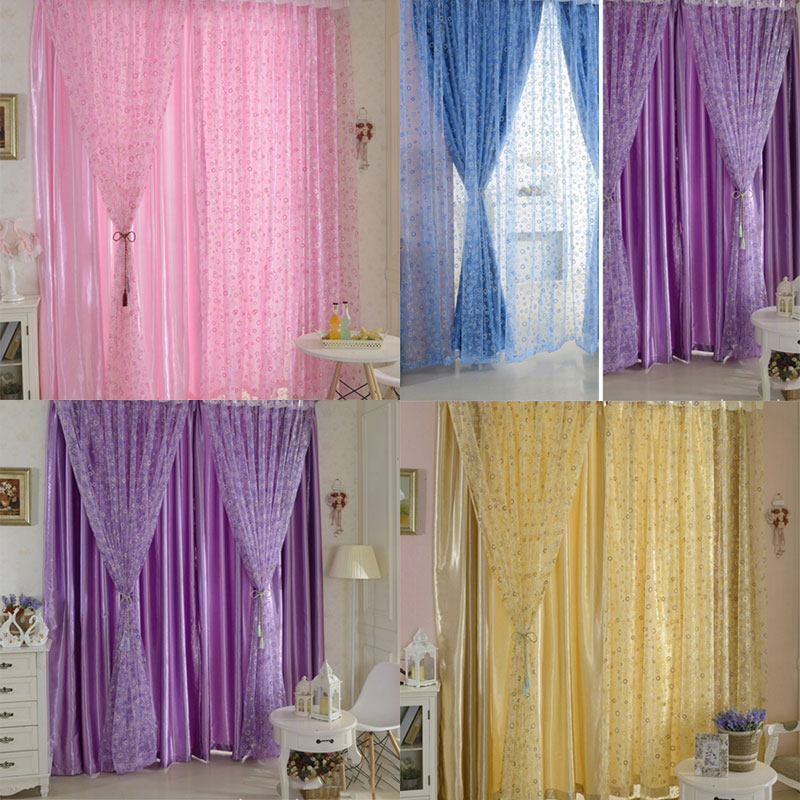 ᑐFashion 100*200cm Window Screening Blinds Blinds Sheer