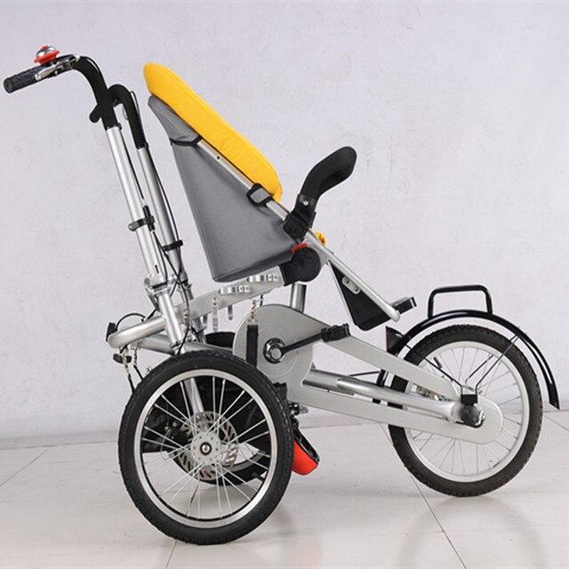 Estremamente 2017 Bambino e la Mamma HandPush Bicicletta Passeggino 3 ruote  EV84
