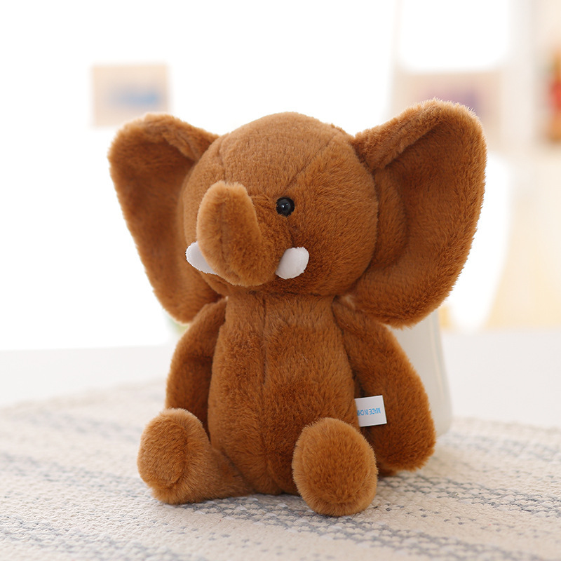 25cm Baby Kids Super Soft Small Elephant Plush Doll Cute Plush