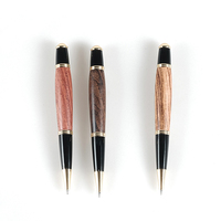 10 Pieces For A Lot Best Handmade Antique Solid Wood Gel Pens Gift Writing Pens