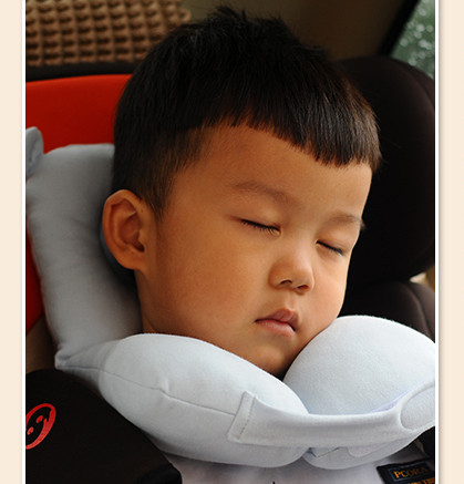 infant stroller pillow child car seat pillow travel pillow soft cotton baby pillow safety kids headrest