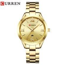 Fashion Curren Brand Women Watches Luxury Gold Quartz Ladies Watch Women Clock Wrist Watches Womens Hour Relogio Feminino 2019 цена и фото