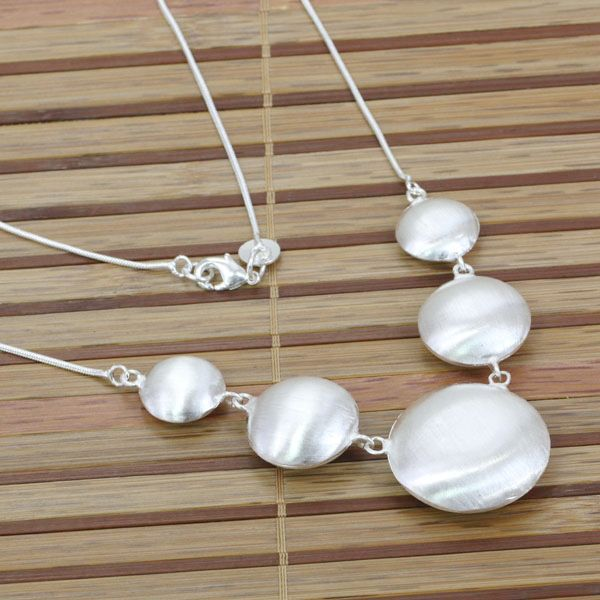 GSSPN088/ silver plated  wedding necklace.fashion jewelry,wholesale,Nickle free antiallergic ,factory price
