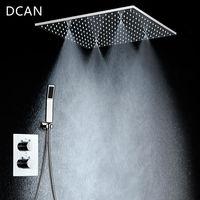 Смесители для душа SPA Big Rain Потолочный душ 20 '' Душевая панель для душа Набор для душа и ванна Смеситель для душа