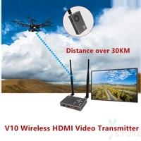 Более 30 км Беспроводной HDMI передачи изображения 100 900 мГц Full HD 1080p COFDM цифровой FPV Беспроводной видео передатчик