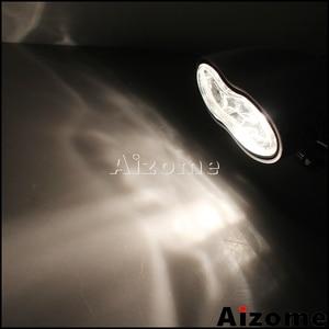 Image 2 - مصباح أمامي مخصص للدراجات النارية H3 55 واط كشافات أمامية بيضاوية بمصباح أمامي مزدوج لدراجة Harley Cafe Racer