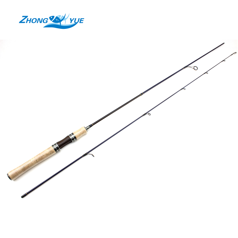 High Quality 1.68m Carp Spinning Fishing Rod 2 Sections Lure Fishing Rods 2-5 LB Line Weight Light and Soft Carbon Beginner gift