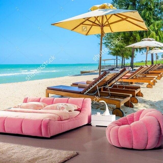 Strand Tapete Bett Strand Auf Tropical Beach Naturliche Landschaft