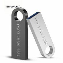 Memory Usb 2.0 Metal Flash Drive 128gb Stick Waterproof Pen 64GB 32GB 16GB 8GB Pendrive Wholesale Free Logo