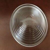 Diameter130mm EFL70mm Round Glass Spotlight Fresnel Lens for Stage Lamp Magnifier Threaded Lenses