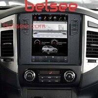 Belsee 10,4 Android 7,1 Тесла Стиль головное устройство Радио стерео Мультимедиа для Mitsubishi Pajero Sport V97 V93 Shogun Montero 2006 +