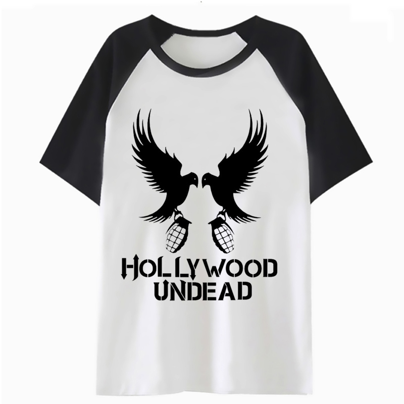 hollywood undead   t     shirt   hip men male hop harajuku tshirt tee funny top   t  -  shirt   for streetwear clothing F2473