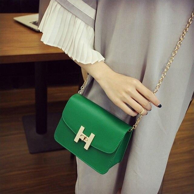 Free shipping, 2019 new trend women handbags, fashion simple flap, retro Korean version shoulder bag, chain woman messenger bag. 3