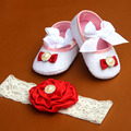 Кот Партия крещение Балерина комплект пинетки горный хрусталь детская обувь впервые уокер, малышей тапочки, установить заставку ребенка малыша обувь