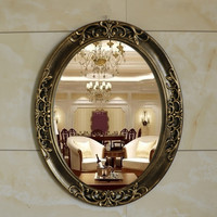European Bathroom Mirror Home Decoration Dressing Table Mirror Vanity Mirror Decorative Mirror