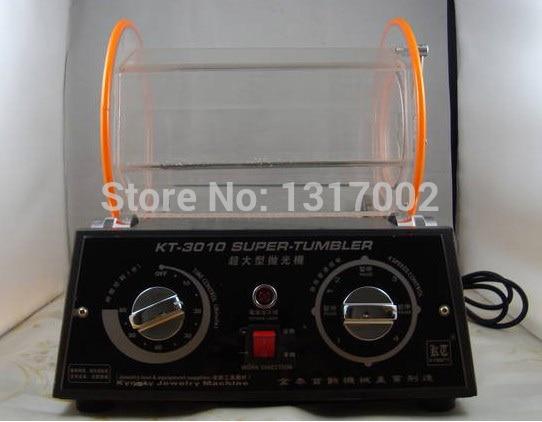 kt3010 Capacity12kg 110V jewelry vibratory tumbler, barrel rotary tumbling machine,gold rotary tumbler,jewelry polishing machine
