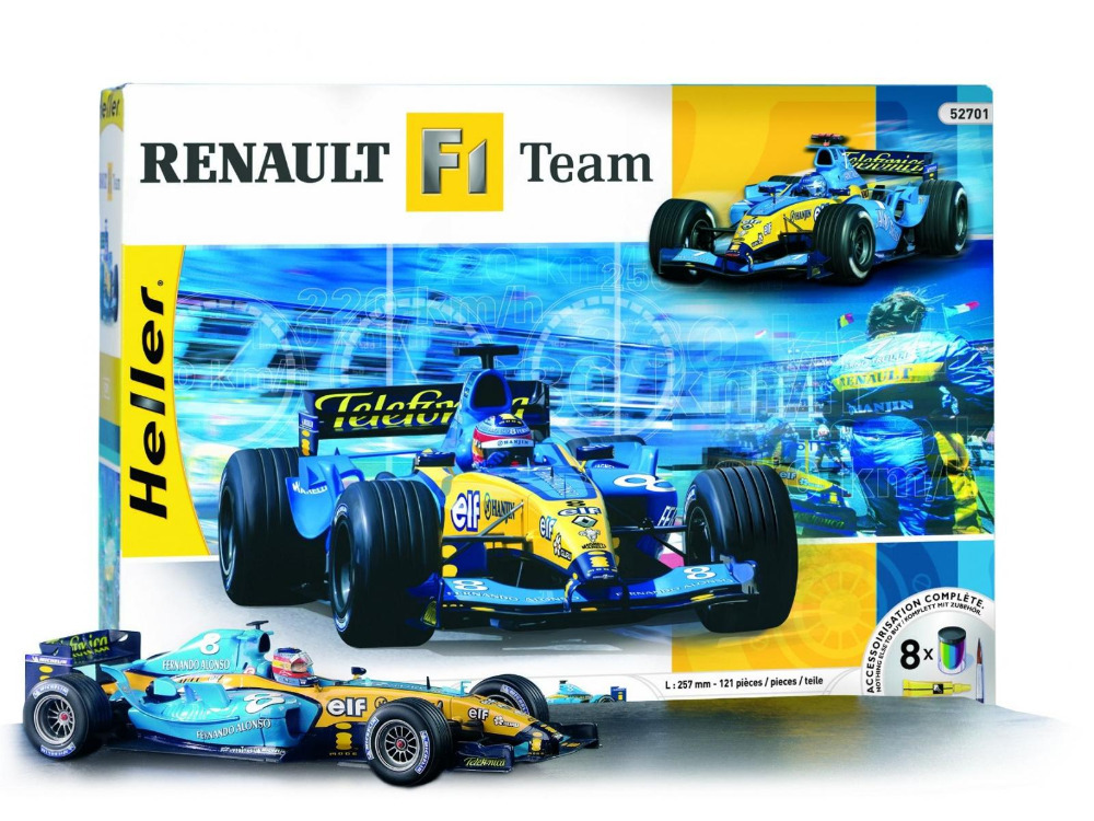 ФОТО Out of print! Heller 52701 Renault F1 Team 1:18 building kit