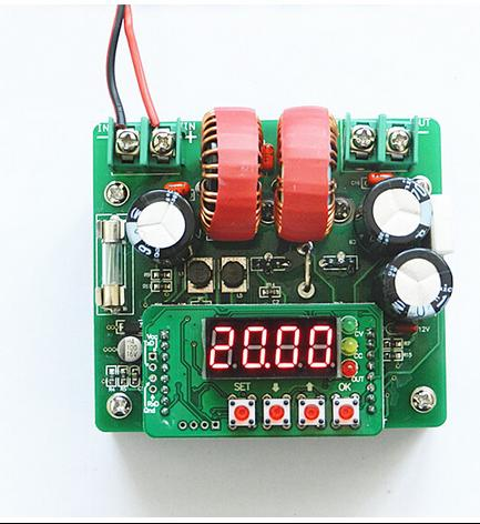 Numerical control digital display DC-DC DC boost module 400W constant voltage and constant current dc 12v led display digital delay timer control switch module plc automation new