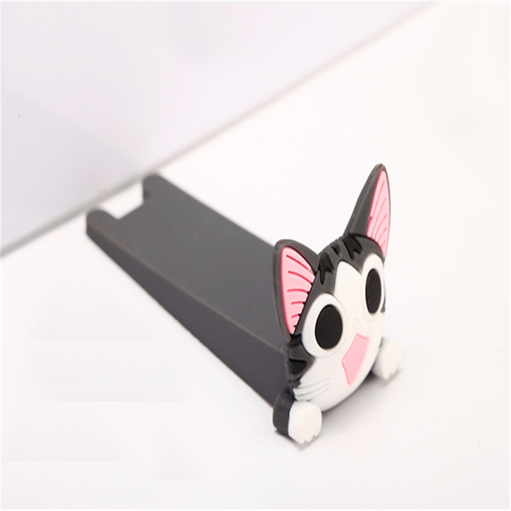 2pc Cartoon Silicone Figure Door Stopper Wedge Door Jam Catcher Block Home Office Chrildren Security Card Bear Armor Cat Shape