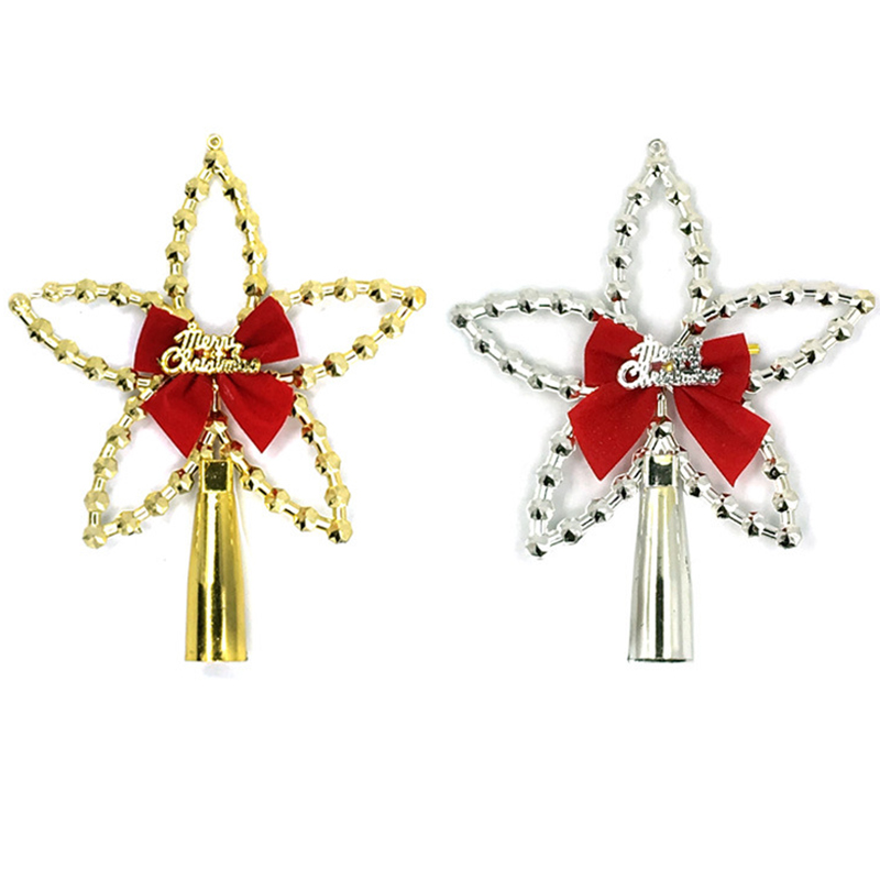 Christmas Tree Top Star Decoration Xmas Hanging Ornaments