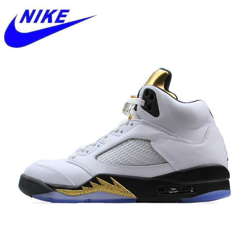 956645993911 Original Nike Air Jordan 5 Retro AJ 5 Men s Breathable New Arrival Official  Basketball Shoes Sports Sneakers 136027-133