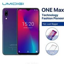 UMIDIGI One Max Global Version 4GB 128GB 6.3″ Waterdrop Full-Screen 4150mAh Dual Camera Smartphone NFC Wireless Charging Face ID