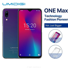 "Get more info on the UMIDIGI One Max Global Version 4GB 128GB 6.3"" Waterdrop Full-Screen 4150mAh Dual Camera Smartphone NFC Wireless Charging Face ID"