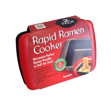 Life83 Life83 2 unids/lote Rápida Cocina Cocinar Ramen Noodle Bowl Microondas reutilizable saludable tazón