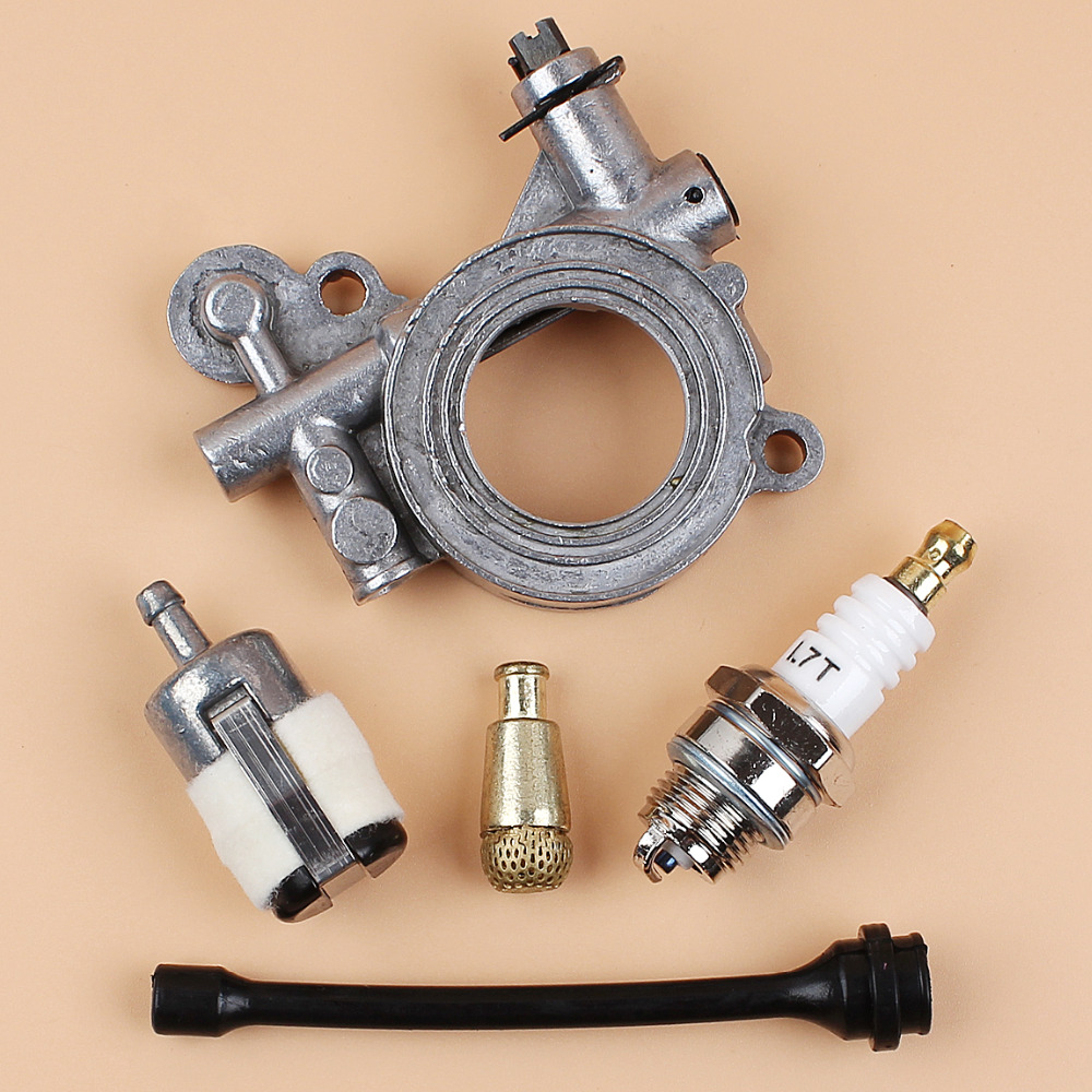 Oil Pump Drive / Oil Filter Line Hose Kit For HUSQVARNA 365 371 372 XP 372XP 362 Chainsaw Spare Parts