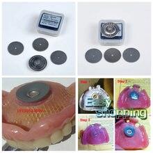 Удерживающие пластины для зубных присосок полного верхних протезов
