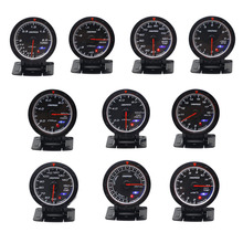CNSPEED turbo boost gauge bar ,water temperature,oil temperature ,oil pressure ,tachometer ,volt ,exhaust gas gauge
