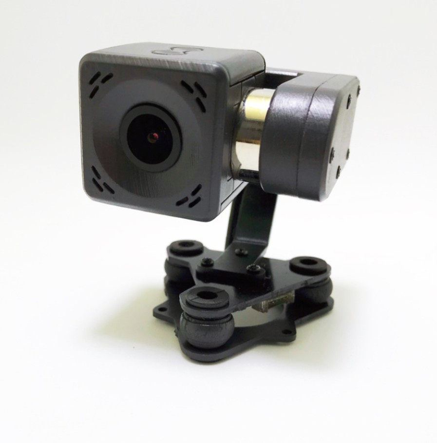Arkbird 2 Axis Brushless Gimbal Integrated Camera only 80g Ultra light Instead of GoPro for RC Fixed Wing FPV Airplanes