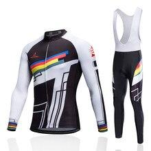 2017 Cycling Jersey Set Winter Thermal Fleece Uniform Maillot Invierno Bike Mtb Men Women Clothing Roupa Ciclismo