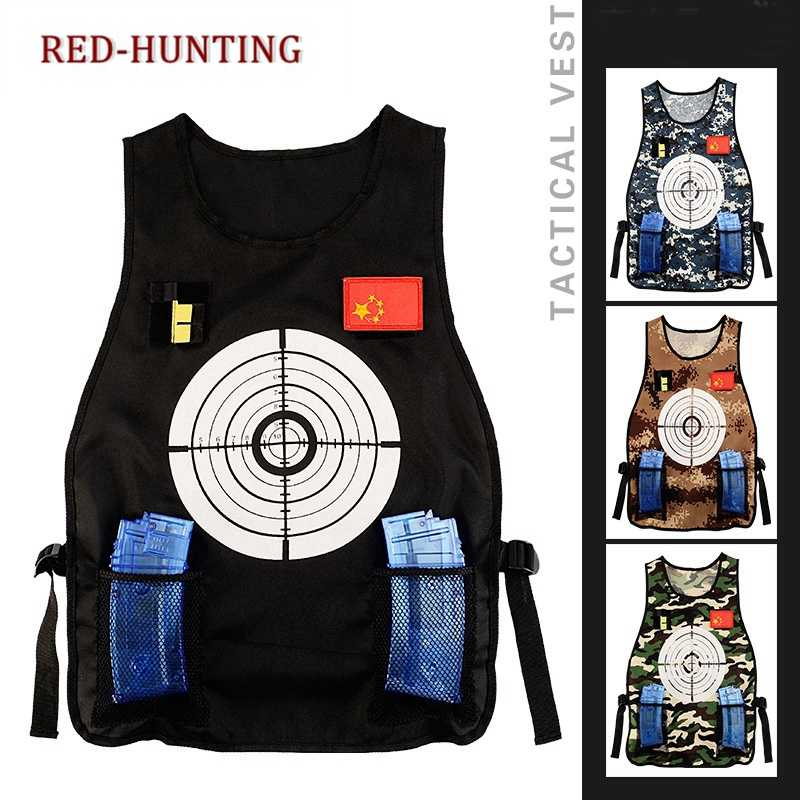 6112e8d21e8f Outdoor Adjustable Quick-drying Nerf Tactical Vest Kit for N-strike Elite  Games Guns