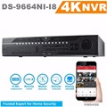 HiK English Version Embedded 4K NVR DS-9664NI-I8 64CH 12MP HDMI Output H.265 Surveillance Video Recorder 8SATA HDD