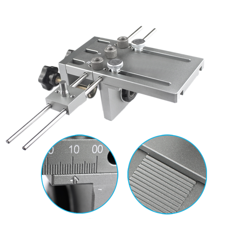 SHGO Dowelling Jig for Furniture Fast Connecting Cam Fitting 3 In 1 Woodworking Drill Guide Kit
