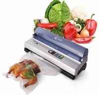 1pc Full Automation Small Commercial Vacuum Food Sealer Vacuum Packaging Machine Family Expenses Vacuum Sealer DZ
