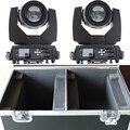 2 pz/lotto con un doppio caso di volo sharpy fascio 230 w 7r luce capa commovente dj attrezzature