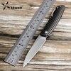 KKWOLF Sharp Folding Knife S35VN Steel Titanium Alloy Handle Camping Pocket Survival EDC Multi Tool Gift