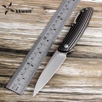 KKWOLF Sharp Folding Knife S35VN Steel Titanium Alloy Handle Camping Pocket Survival EDC Multi Tool Gift