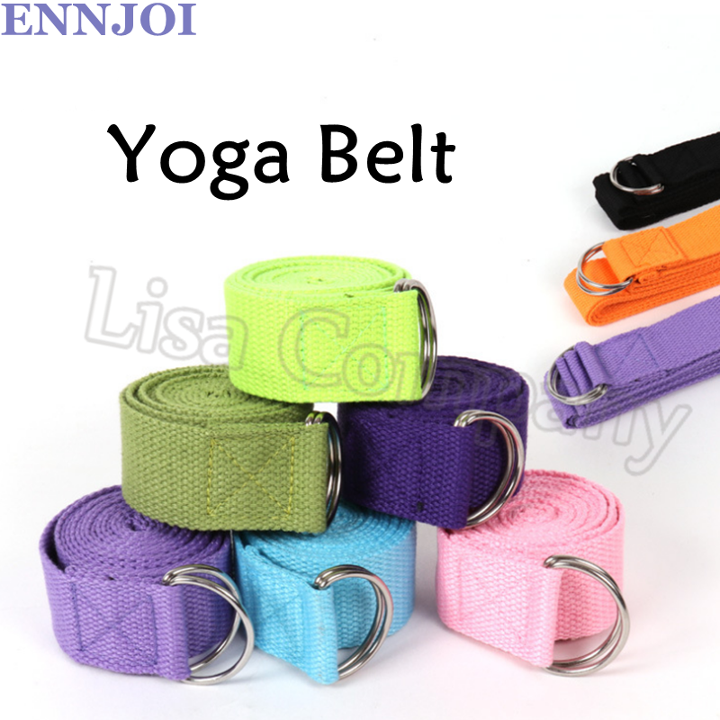 9 Color 183*3.8cm 2mm Thickness Superior Quality Polyester Pilates Yoga Belt Slimming Durable Yoga Sretching Tensile Belt